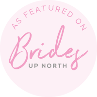 Brides Up North featured badge