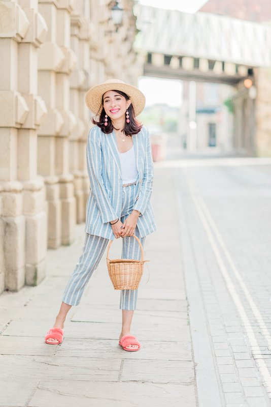 blogger shoot in Newcastle Upon Tyne with Virgit Canaz of The Preppy Fashionist - Photo by Cristina Ilao Photography