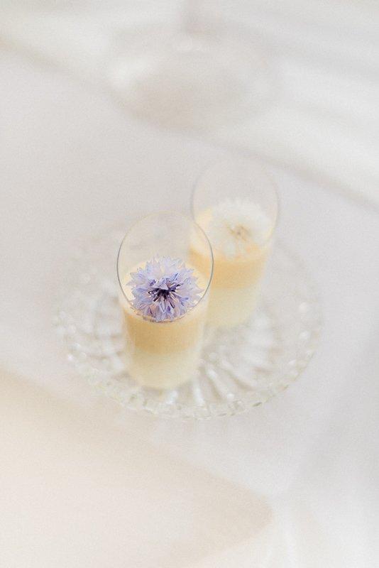 Vanilla and Papaya Panna Cotta from The Pattiseria by MonAnnie Cakes and Alexandra Rose Weddings - Photo by Cristina Ilao Photography