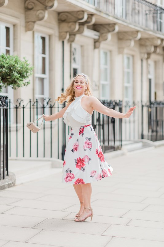lifestyle shoot in Belgravia London with Alex Murphy of Dancing on Ice - Photo by Cristina Ilao Photography