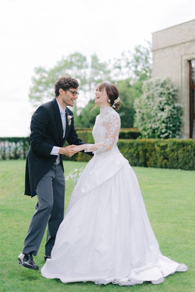 Hedsor House Wedding a la Downton Abbey