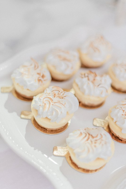 2019 Wedding Trend Luxury Patisserie Table: The Patisseria by MonAnnie Cakes and Alexandra Rose Weddings. A branding shoot at the Belmond Le Manoir Au Quat Saisons by Filipina fine art destination wedding photographer Cristina Ilao Photography | In Photo: Passion fruit meringue cheesecake