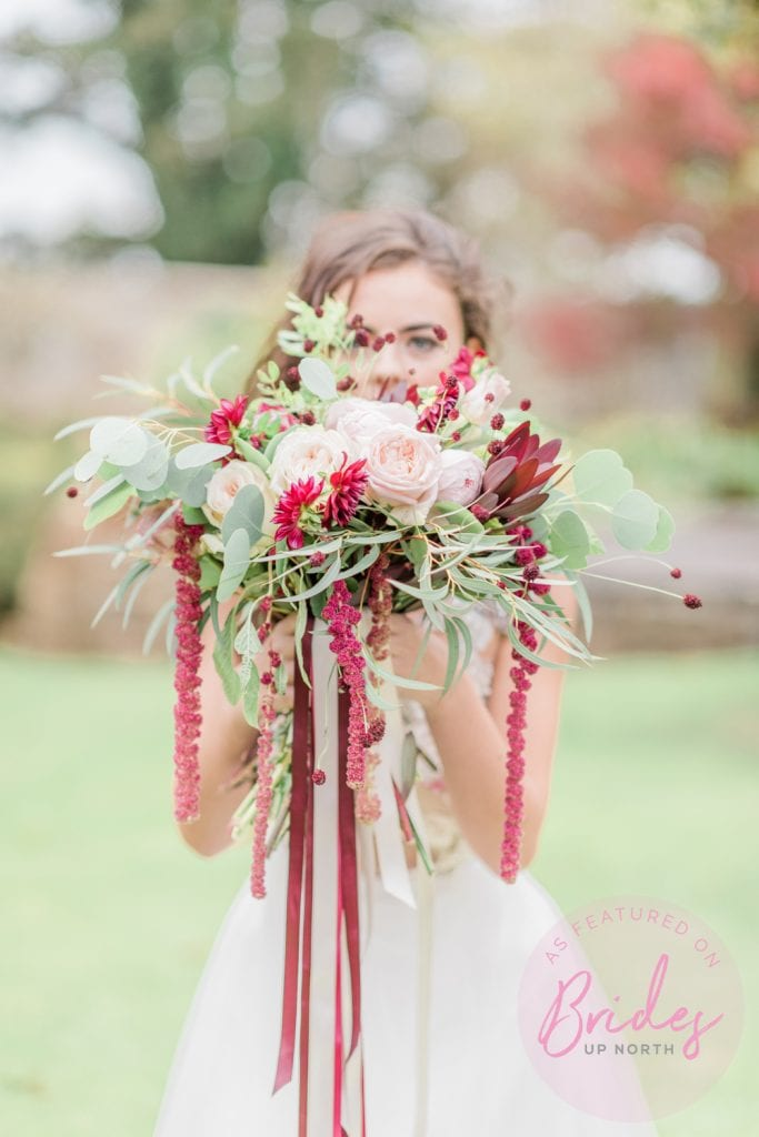 Bohemian Bride - A Styled Shoot for all seasons at Stanton Gardens, Northumberland - Cristina Ilao Photography