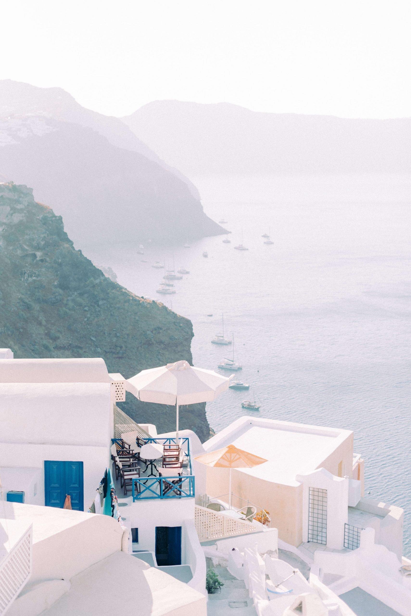 Greece view from Oia Santorini. Photography by Cristina Ilao www.cristinailao.com