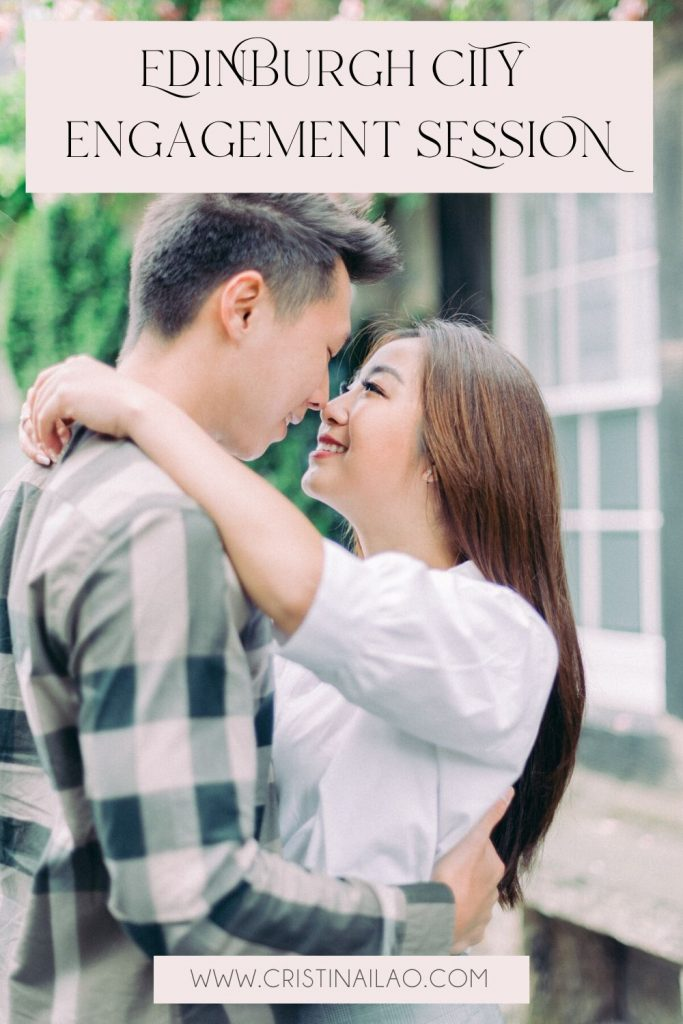 Edinburgh Things To do: Engagement Session and Post-wedding shoot in Circus Lane
