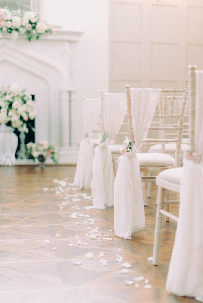wedding aisle decorations by Flori & Fern